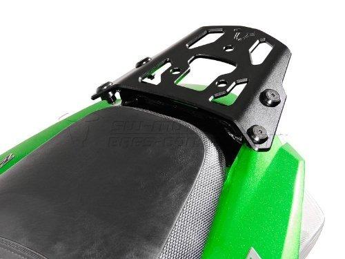 SW-MOTECH Alu-Rack EVO Toprack (Kawasaki ZX14 / ZZR1400, '06-), black - for Givi, Hepco-Becker, & Krauser topcases Hepco Becker Top Case