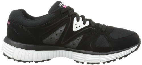 11694 Black Vision Womens Athletic Agility Shoe Skechers New F50xT