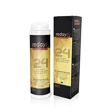 REDAY24 TOTAL SHAMPOO - Champú Anticaída del cabello con Procapil, Biotina y Poliplant