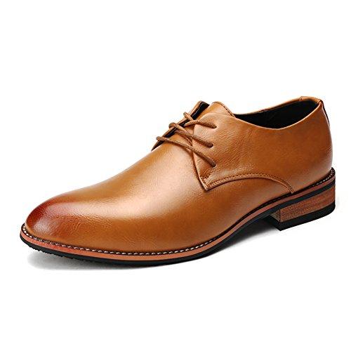 Punta en verano zapatos casual de negocios/Zapatos bajos ingleses/Zapatos de los hombres salvajes A