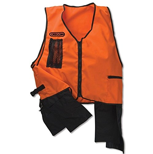 New Oregon FORESTRY TOOL VEST Size XL Extra Large - High Visibility Orange Safety Tool Work Chainsaw by The ROP Shop