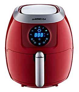 GoWISE USA 5.8-Quart Programmable 7-in-1 Air Fryer, GW22645