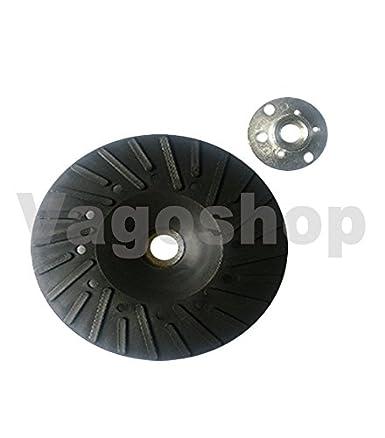 Fiberscheiben 125 mm Schleifteller Flex Teller Bohrmaschinen 3x Stützteller f