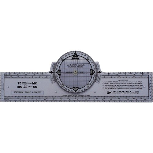 13 Azimuth Compass Rose Navigation Plotter by APR ()