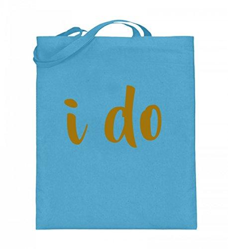 Shirtee RHJ9VTVG_XT003_38cm_42cm_5739 - Bolso de tela de algodón para mujer Azul azul 38cm-42cm Azul Claro