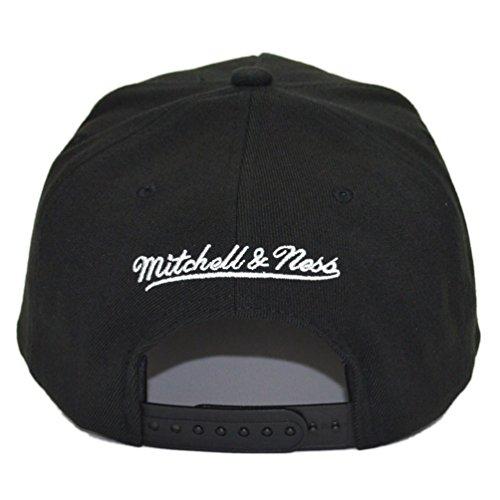 Mitchell & Ness - Zapatillas de Poliéster para hombre Negro gris Talla única