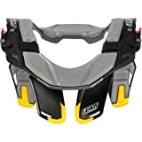 Leatt STX Road Neck Brace Street Motorcycle Body Armor - Black/Grey/Yellow / Large/X-Large