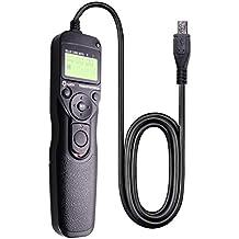 Foto&Tech LCD Timer Shutter Release Remote Control Cord for PENTAX K-70, 645Z, 645D, K1, K3, K5, K5 II, K30, K50, K500, K7, K110D, K100D, K100D Super, K200D, K10D, K20D