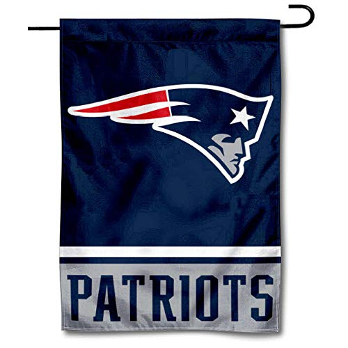 WinCraft New England Patriots Double Sided Garden Flag -