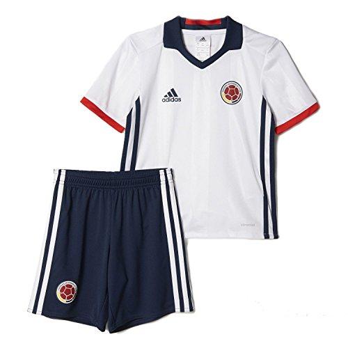夢中領事館化石adidas Kid's Colombia Home Mini Kit Set Copa America Centenario 2016/サッカーユニフォーム ミニセット コロンビア 背番号なし