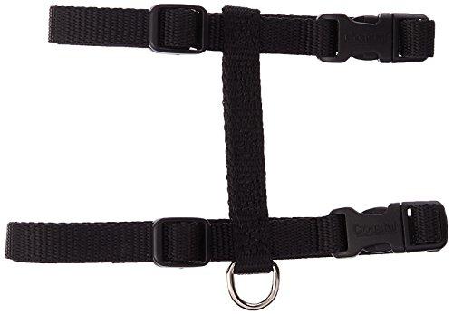 Coastal Pet Products CCP6341BLK Nylon Adjustable Figure H Cat Harness, Black