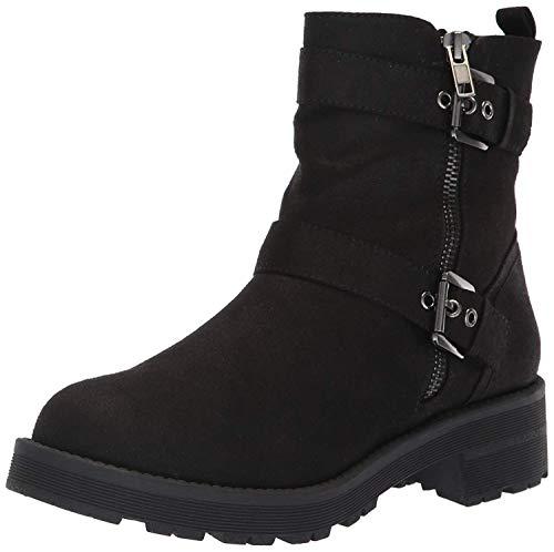MIA Women's Raymond Ankle Boot, Black, 7 Medium US