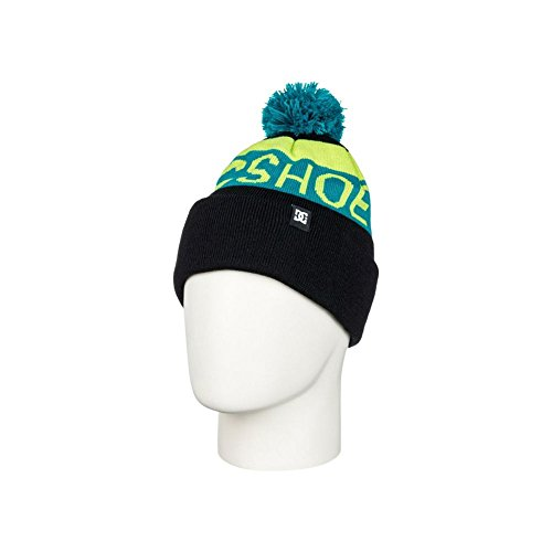 DC Boys Chester Beanie Hat One Size Anthracite