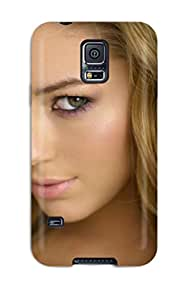 Galaxy S5 Hard Back With Bumper Silicone Gel Tpu Case Cover Keeley Hazell Closeup 9698266K62798737