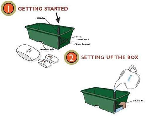 Earthbox Garden Kit, Green Pack of 2, Organic