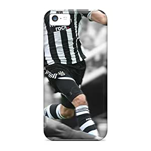 Tough Iphone Hog-693Ny Case Cover/ Case For Iphone 5c(the Famous Team Newcastle United)