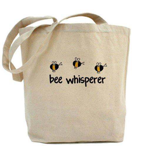 CafePress–abeja Whisperer–Gamuza de bolsa de lona bolsa, bolsa de la compra