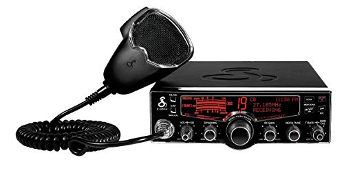Cobra 29Lx Professional CB Radio - NOAA Weather Channels and Emergency Alert System, Selectable 4-Color LCD, Auto-Scan, Alarm and Radio Check