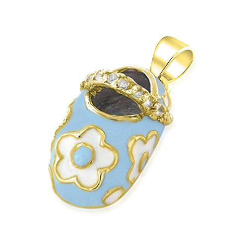 Bling Jewelry Plated Enamel Pendant product image