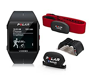 Polar V800 GPS Sports Watch Special Edition with Heart Rate Monitor, Black