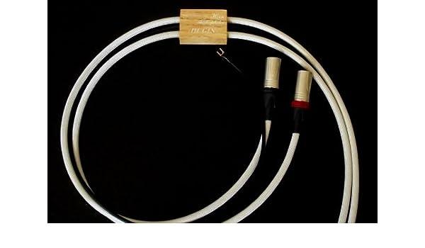 CUERNO Audio philes Odin - Phono Hugin de XLR 2 x 1,50: Amazon.es ...