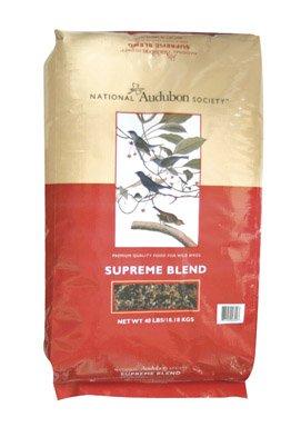 Red River 00399 National Audubon Supreme Blend Bird Seed, 40-Pound, My Pet Supplies