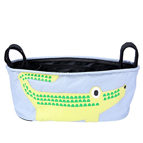 toophoto-adjustable-removable-portable-parents-stroller-storage-organizer-bag-crocodile