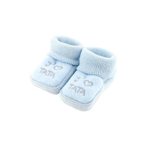 Babyschuhe 0-3 Monate Blue - Ich mag tata