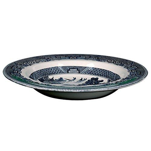 Johnson Bros. Blue Willow Rim Soup Bowl