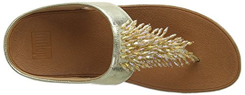 Metallic Rumba Women's Thong Gold FitFlop Sandal xIq5ndg