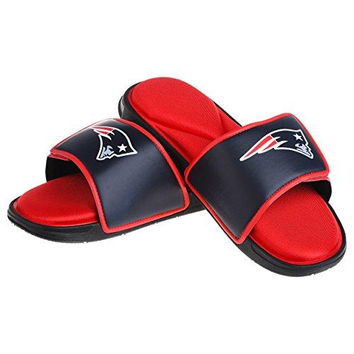 New England Patriots NFL Mens Foam Sport Slide - M ()
