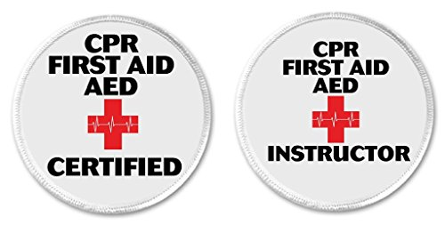 Set 2 CPR First Aid AED Certified / Instructor 3