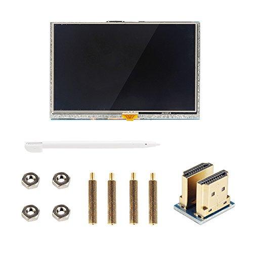 SainSmart 5 inch LCD for Raspberry Pi 3 2 1 Model B+ A+ B 800x480 Touch LCD Screen HDMI Display Module Mini PC by SainSmart (Image #3)