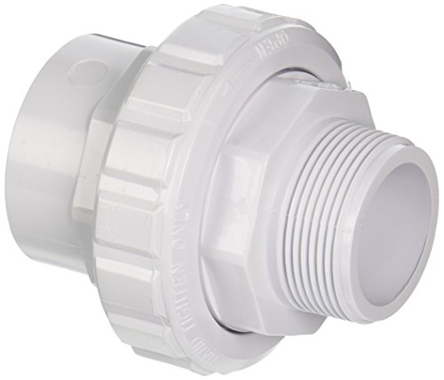 (Hayward SP14953S 1-1/2-Inch MIP by 1-1/2-Inch Socket White ABS Flush Male/Female Socket Union)