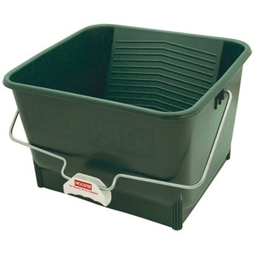 Wooster Brush 8616 4-Gallon Bucket, Pack of 1, Green by Wooster Brush