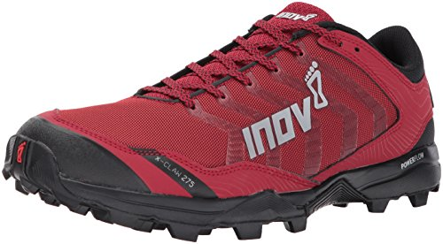 Inov-8 Men's X-Claw 275 (M) Fashion-Sneakers, Red/Black, 12 D - Soft Studs Claw