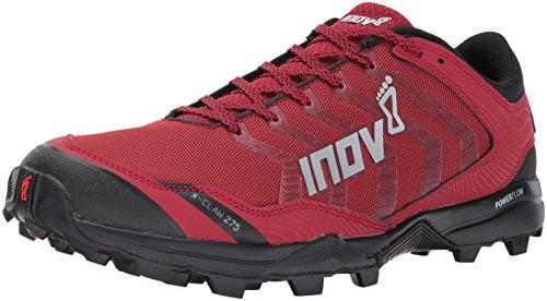 Cheap Inov-8 Men's X-Claw 275 (M) Trail Running Shoe, red/Black, 8.5 D US