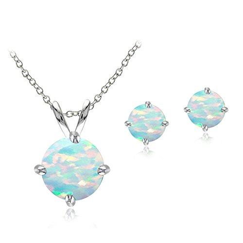 sterling-silver-created-white-opal-round-solitaire-necklace-stud-earring-set