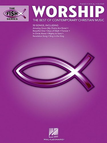 Worship - The Fish Series: The Best of Contemporary Christian Music (Piano/Vocal/guitar)