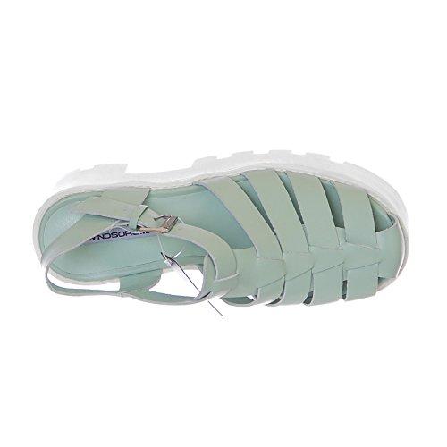Mint Fluffy Smith Windsor Verde Taglia Sandali 41 Colore B5EwdSqpw