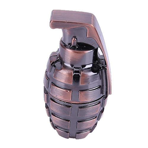 Mini USB2.0 U Disk, Creative Metal Grenade Shape U Disk Copper for Army Fans Gift(16Gb) from MKChung