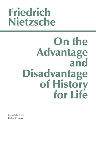 On the Advantage and Disadvantage of History for Life Metaphors and ...