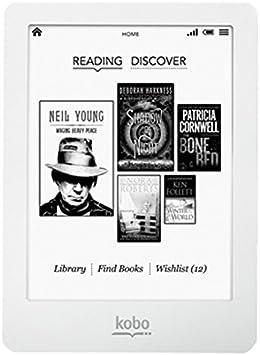 Kobo Glo - Lector de eBooks de 6