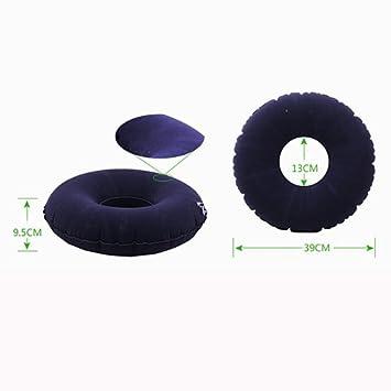 Amazon.com: hgcy Donut cojín de aire inflable anti decúbito ...