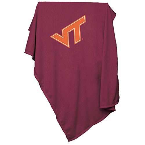 NCAA Virginia Tech Hokies Sweatshirt Blanket