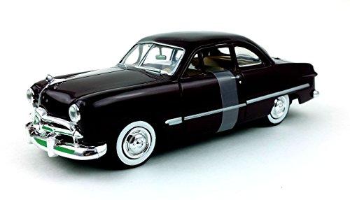 American Classics 1949 Ford Coupe, Premium Die-Cast Metal Collection, Dark Purple (Eggplant).
