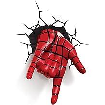 3DLightFX Marvel Spiderman Hand 3D Deco Light
