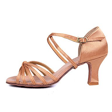 2 danse pour de talons Latin personnalisables nbsp;couleurs pour avec femme Chaussures Salsa zgw4q4
