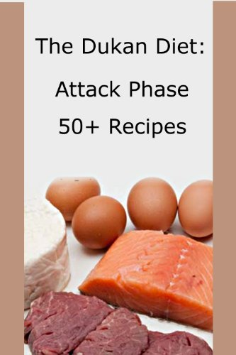 Dukan Diet Recipes Attack Phase ebook product image
