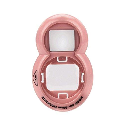 Price comparison product image Mchoice Polaroid Camera Self-Timer Mirror For FUJIFILM Instax Mini7s Mini8 / 9 (Beige)